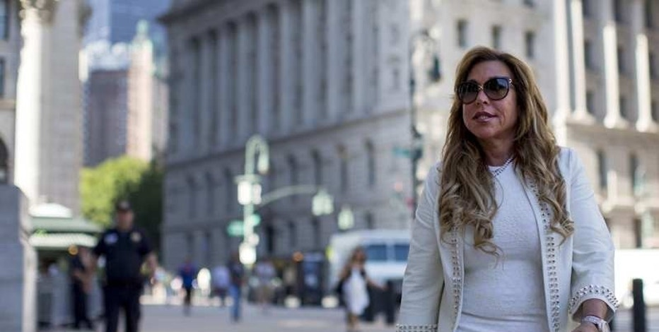 New York financier Lynn Tilton arrives for an appeal hearing at the U.S. District courthouse in New York, U.S. on September 16, 2015. REUTERS/Brendan McDermid/File Photo