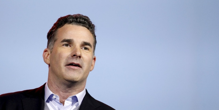 Founder and CEO of Under Armour Kevin Plank speaks during an IBM keynote address at the 2016 CES trade show in Las Vegas, Nevada, January 6, 2016. REUTERS/Steve Marcus - RTX21CCX