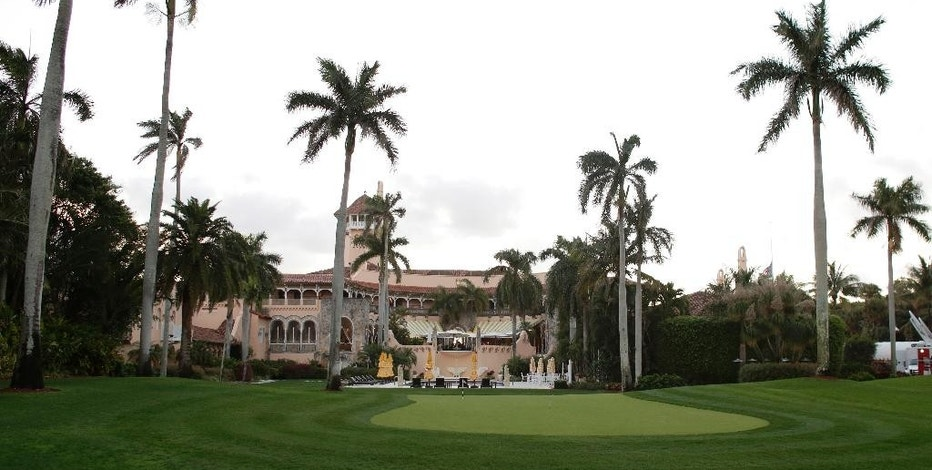 FILE - This March 11, 2016, file photo shows the Mar-A-Lago Club, owned by Republican presidential candidate Donald Trump, in Palm Beach, Fla. A staple of Palm Beach's high-end philanthropy circuit, the Mar-a-Lago Club boasts rich history, an 800-seat ballroom and ocean views. Trump has suggested that his presidential campaign will boost his hotel business and personal brand. But after a tumultuous run up to the election, including lewd statements about women and derogatory remarks about immigrants, there's some evidence that Trump's brand is being tarnished. (AP Photo/Lynne Sladky, File)
