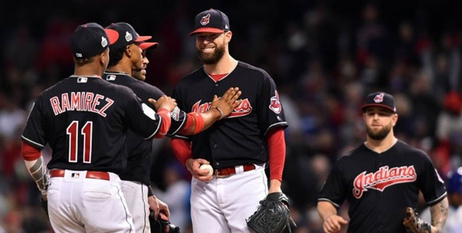 Corey Kluber  WS Ken Blaze-USA TODAY Sports