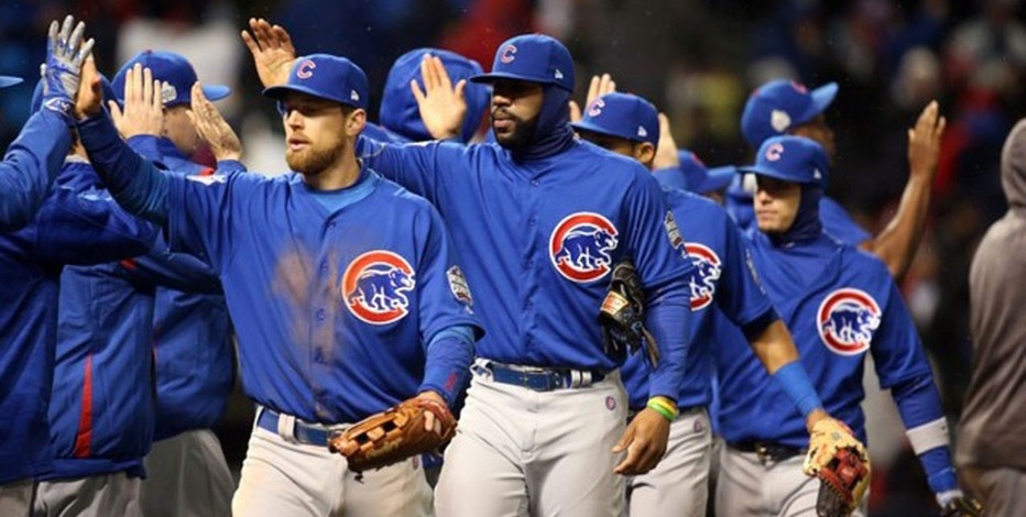 Cubs Win Game 2  Charles LeClaire-USA TODAY Sports