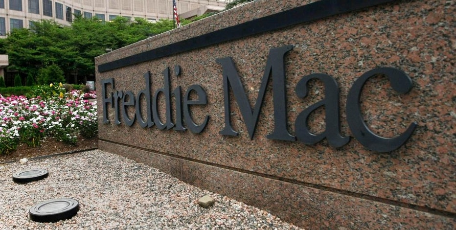 FILE - In this July 13, 2008, file photo, shows the Freddie Mac headquarters in McLean, Va. Freddie Mac reports financial results on Tuesday, Nov. 1, 2016. (AP Photo/Pablo Martinez Monsivais, File)