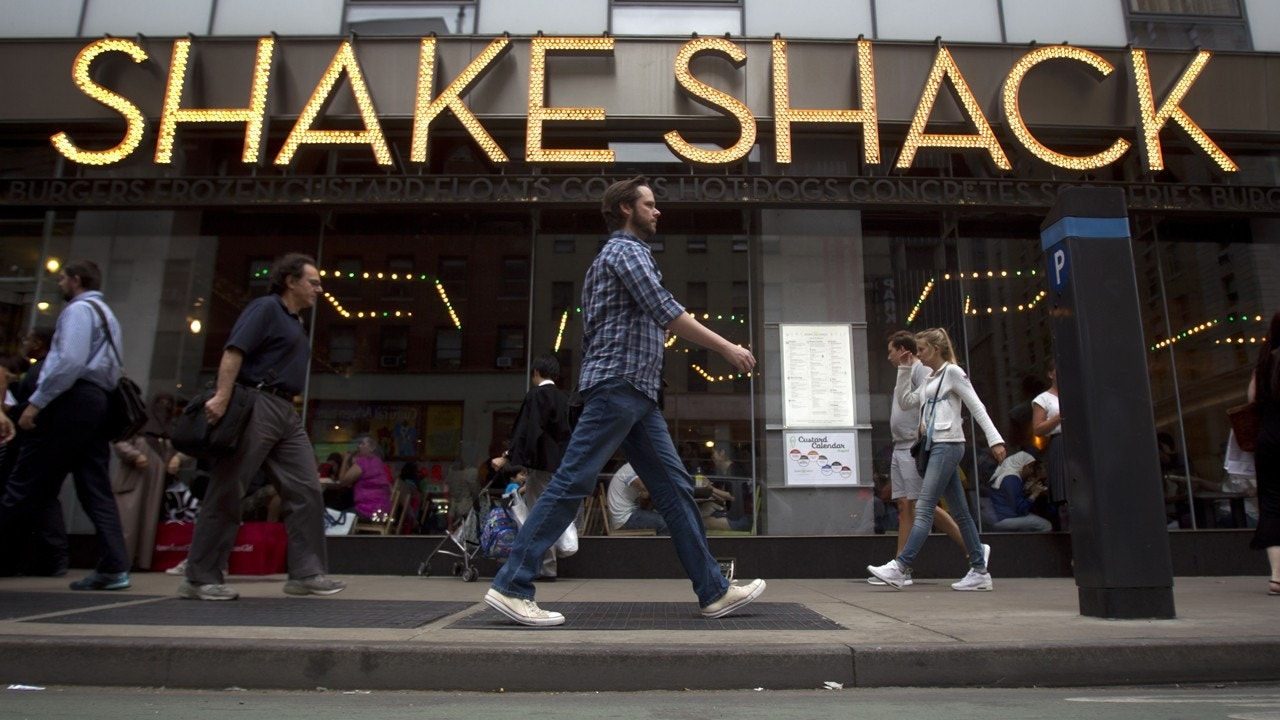 Shake Shack Stock Soars As Profit Doubles | Fox Business