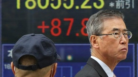 Asia shares listless but China, Japan rise on dollar's gain