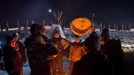 After major victory, ND pipeline protesters to defy deadline