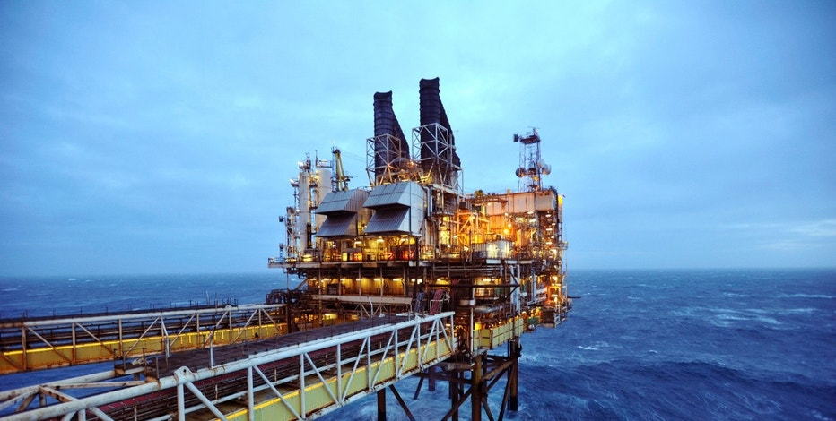 Deep ocean oil rig FBN