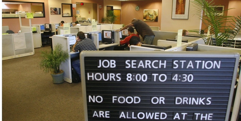 US jobless claims decline from five-month high
