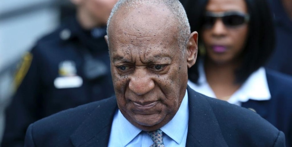 FILE - In this Tuesday, Nov. 1, 2016 file photo, Bill Cosby leaves after a hearing in his sexual assault case at the Montgomery County Courthouse in Norristown, Pa. A prosecutor says Cosby's trial should remain at a suburban Philadelphia courthouse despite the comedian's argument there's been widespread negative press coverage of the sexual-assault case against him. In a response to a motion filed by Cosby's lawyers last month, Montgomery County District Attorney Kevin Steele on Thursday, Jan. 5, 2017, said he wouldn't oppose Cosby's request to bring in a jury from elsewhere.  (AP Photo/Mel Evans, File)