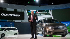 Honda unveils new Odyssey in small, scrappy minivan market
