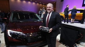 The Latest: Bolt, Ridgeline, Pacifica get auto show awards