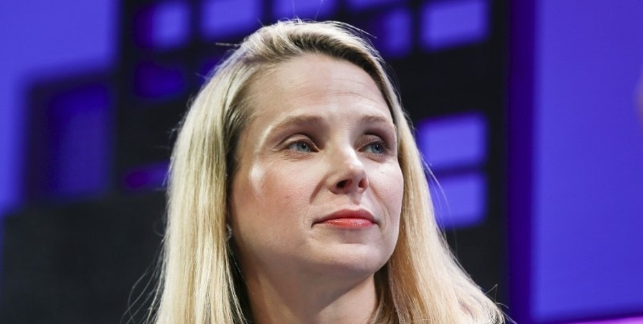 Marissa Mayer, President and CEO of Yahoo, participates in a panel discussion at the 2015 Fortune Global Forum in San Francisco, California, U.S. November 3, 2015. REUTERS/Elijah Nouvelage/File Photo