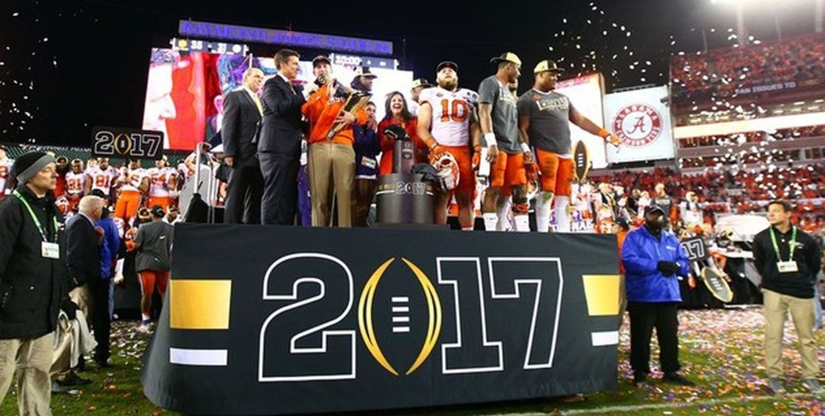 Clemson Win 2017  Mark J. Rebilas-USA TODAY Sports