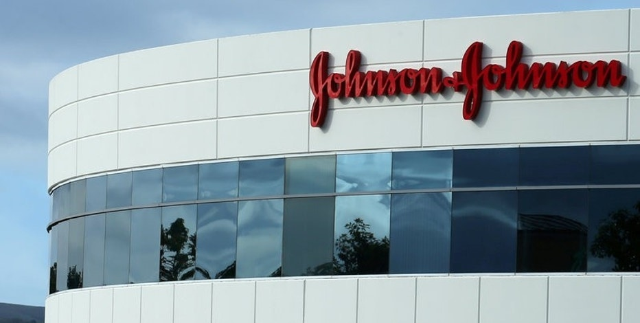 FILE PHOTO -  A Johnson & Johnson building is shown in Irvine, California, U.S., January 24, 2017.   REUTERS/Mike Blake/File Photo