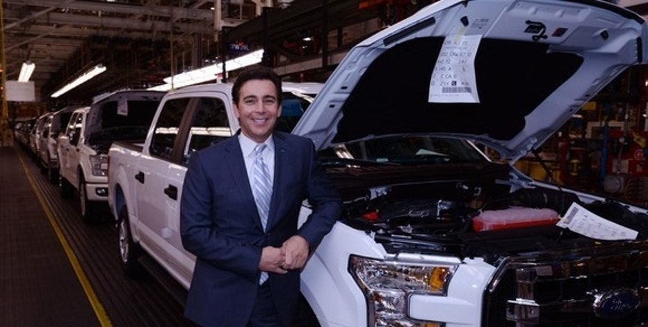Why ford motor company 39 s ceo is optimistic about donald for Ford motor company leadership