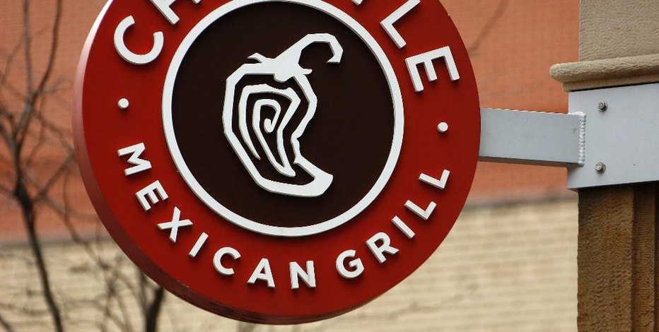 This Thursday, Jan. 12, 2017, photo shows the sign on a Chipotle restaurant in Pittsburgh. Chipotle Mexican Grill, Inc. reports earnings Thursday, Feb. 2, 2017. (AP Photo/Gene J. Puskar)