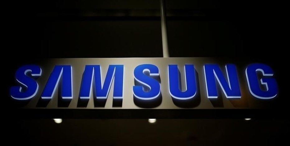 The logo of Samsung Electronics is seen at its headquarters in Seoul, South Korea, July 4, 2016.    REUTERS/Kim Hong-Ji/File Photo