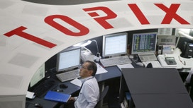 Nikkei Falls After Toshiba Earnings Delay