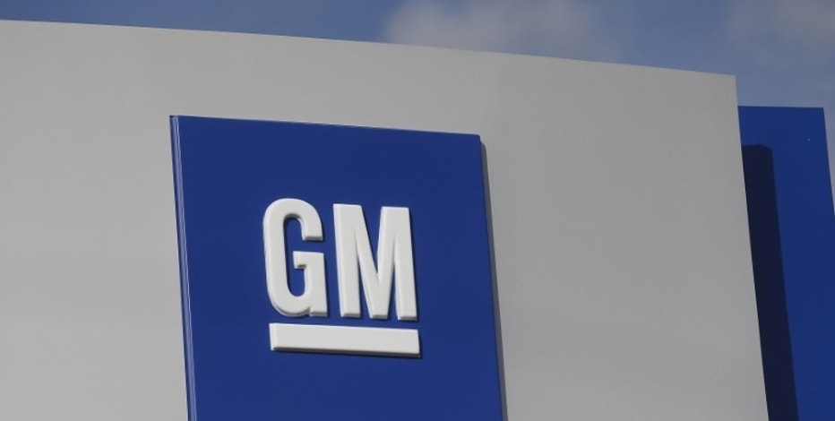 The GM logo is seen at the General Motors Warren Transmission Operations Plant in Warren, Michigan October 26, 2015. Photo taken October 26.   REUTERS/Rebecca Cook - RTX1TGK7