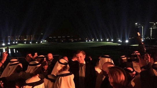 Trump sons open Dubai golf course, praise U.S. ally