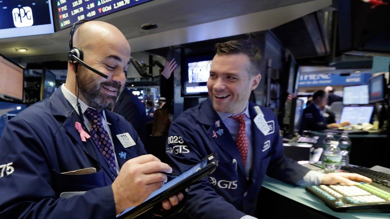 Technology Stocks Boost Wall Street To Record Highs