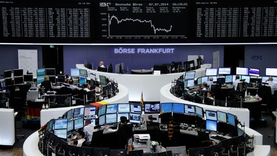 European Stocks Hit New 14-Month High
