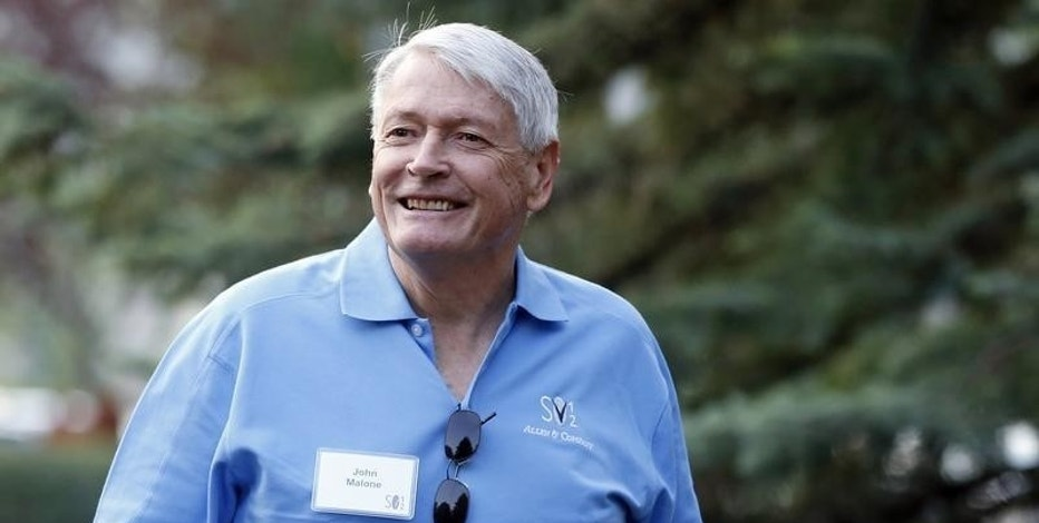 FILE PHOTO: Chairman of Liberty Media John Malone attends the Allen & Co Media Conference in Sun Valley, Idaho in this July 12, 2012 file photo.   REUTERS/Jim Urquhart