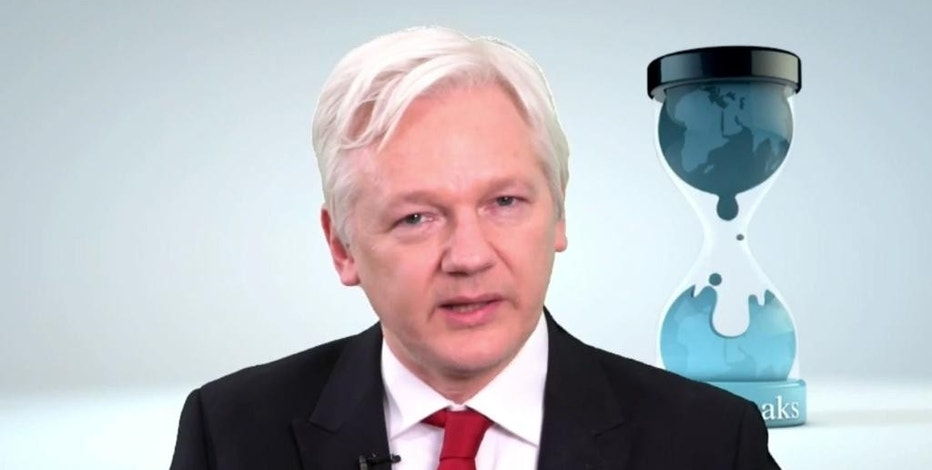 "WikiLeaks founder  Julian Assange speaks in this video made available Thursday March 9, 2017. Assange said  his group will work with technology companies to help defeat the Central Intelligence Agency's hacking tools. Assange says ""we have decided to work with them, to give them some exclusive access to some of the technical details we have, so that fixes can be pushed out."" (WikiLeaks via AP)"
