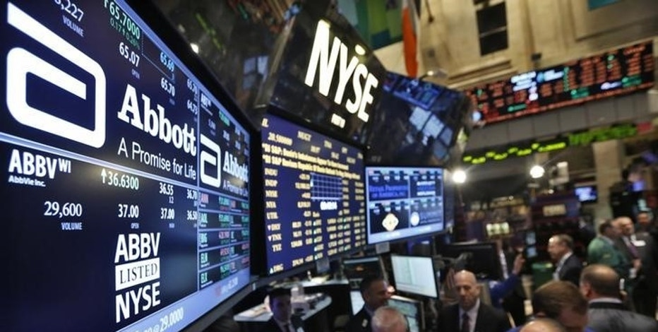 Choppy day on Wall Street; all eyes on Trump and health care