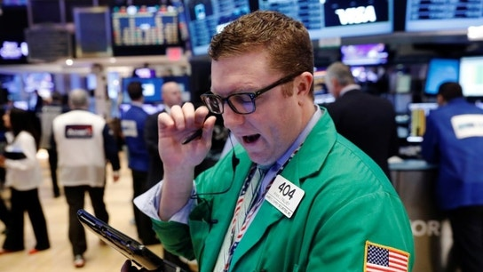 Wall Street opens flat&#x3b; all eyes on healthcare vote