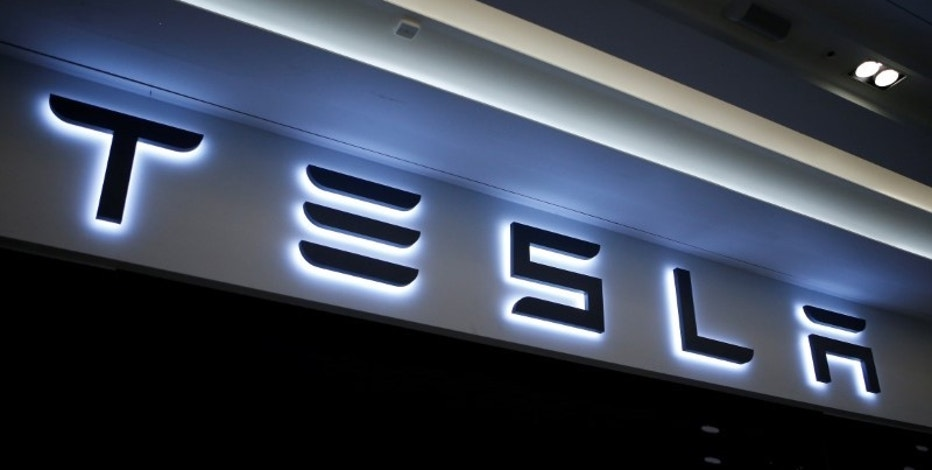 A Tesla logo is seen at its planned store in Hanam, South Korea, December 22, 2016. REUTERS/Kim Hong-Ji