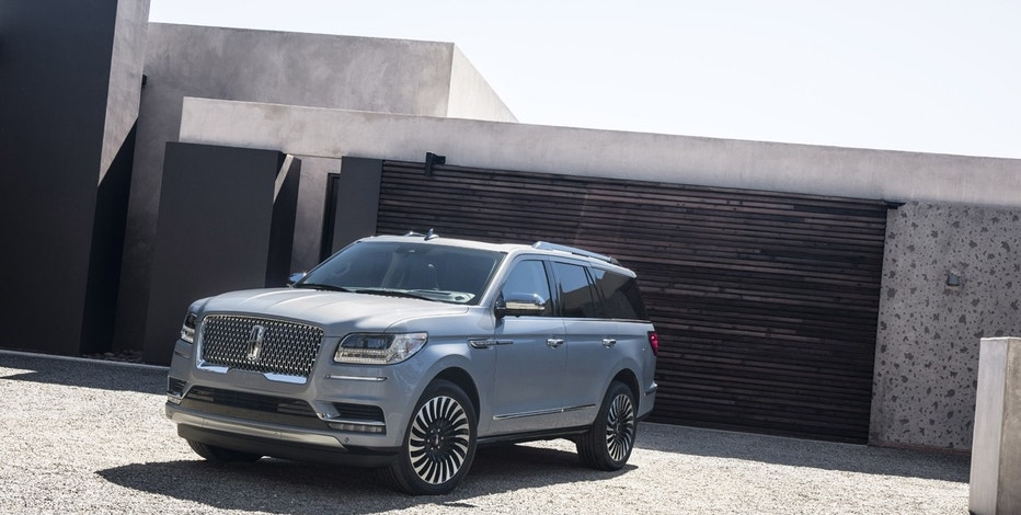 Lincoln introduces the 2018 Lincoln Navigator at the New York International Auto Show on Wednesday, April 12, 2017.