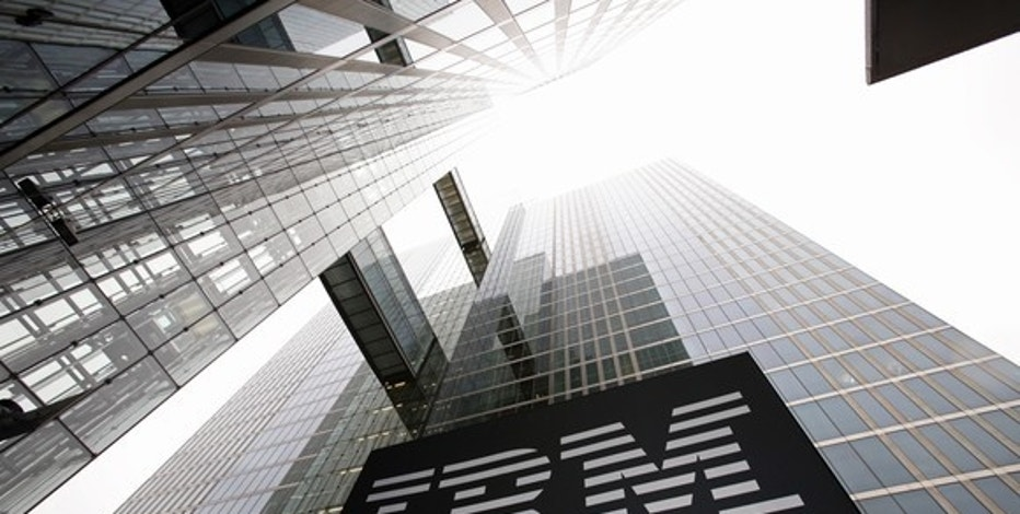 IBM's quarterly revenue falls nearly 3 percent