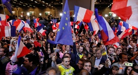 Stocks Jump on Optimism Over French Election