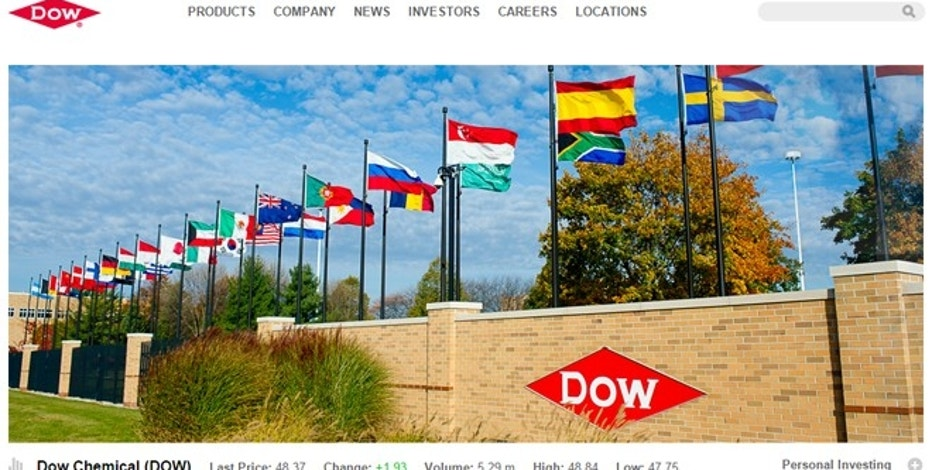 Dow Chemical beats Street 1Q forecasts, revenue jumps