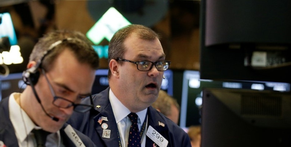 Stocks dip as media, health care companies fall
