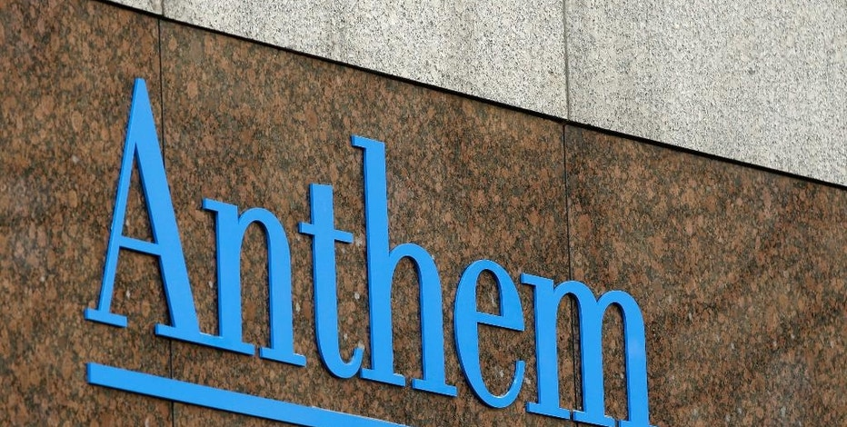 FILE - This Dec. 3, 2014, file photo, shows the Anthem logo at the company's corporate headquarters in Indianapolis. Health insurer Anthem is not ready to give up its $48-billlion bid to buy rival Cigna and now hopes to find a favorable audience in the U.S. Supreme Court. The Blue Cross-Blue Shield insurer is asking the court to review last week's rejection by a federal appeals court. (AP Photo/Darron Cummings, File)