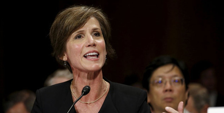 Sally Yates  Reuters