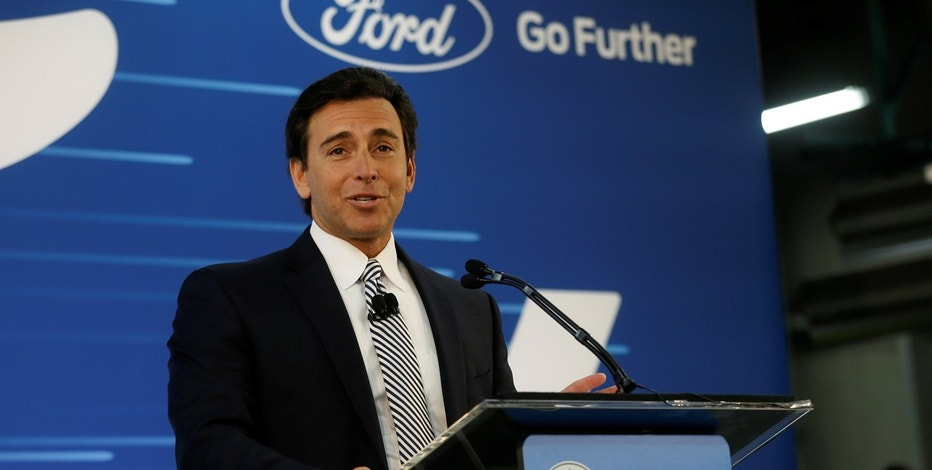 Ford ceo mark fields feels the heat from board fox business for Ford motor company leadership