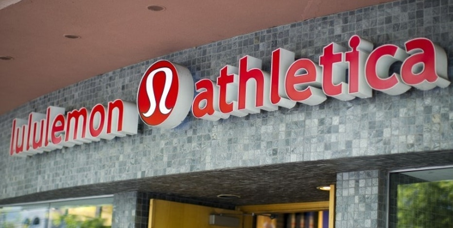 Lululemon Athletica share jumped as sales rebounded