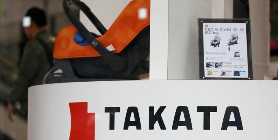 Takata would stop making air-bag inflators after bankruptcy after recall