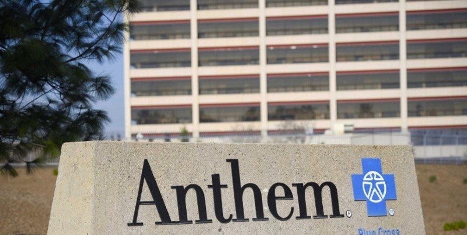 The office building of health insurer Anthem is seen in Los Angeles California