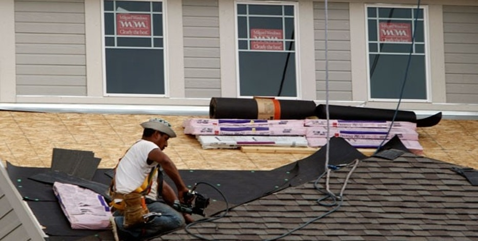 Homebuilders higher after strong housing starts number