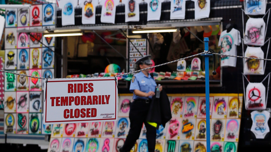 The Latest: Some rides reopening at Ohio fair after death