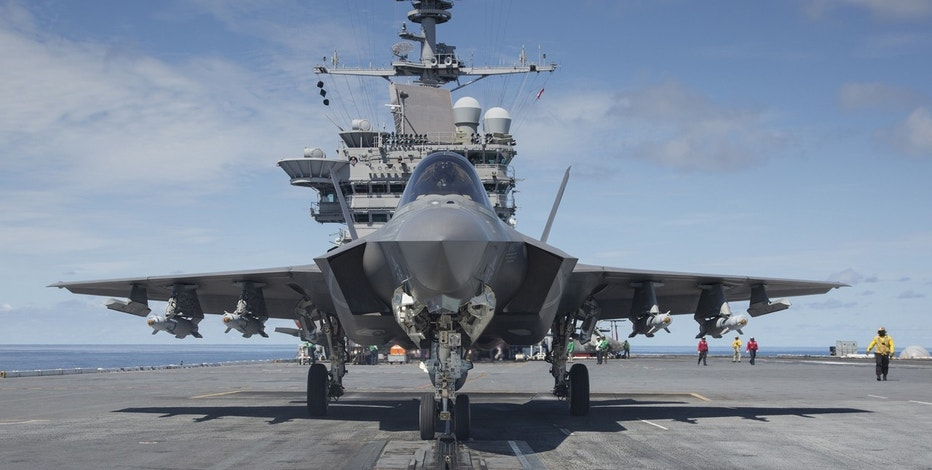 Lockheed Martin F-35 front view FBN