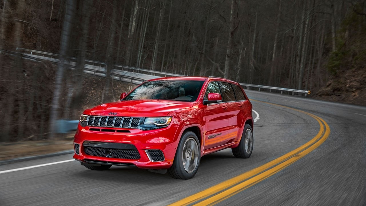 Jeep reveals pricing for 2018 Grand Cherokee Trackhawk