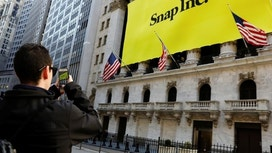 Snap shares up ahead of results&#x3b; options traders eye steep stock swing