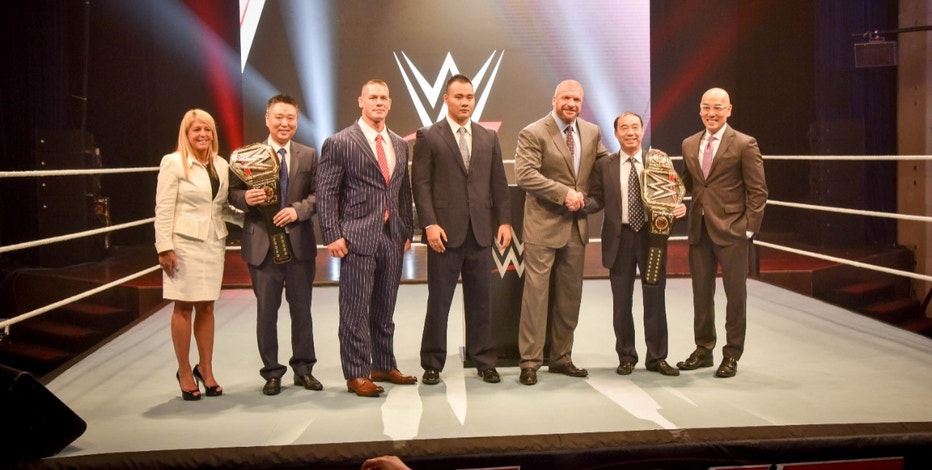 WWE shares rise as streaming channel launches in China