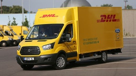 Ford, DHL deliver new electric van