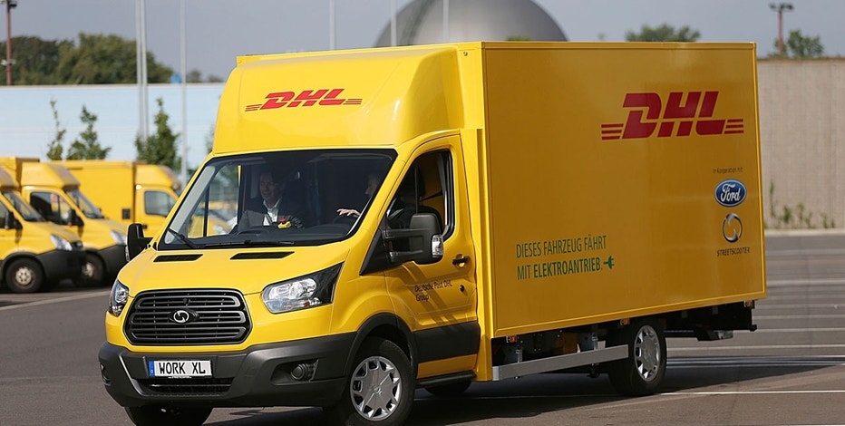 Here's your first look at Ford's electric DHL delivery van