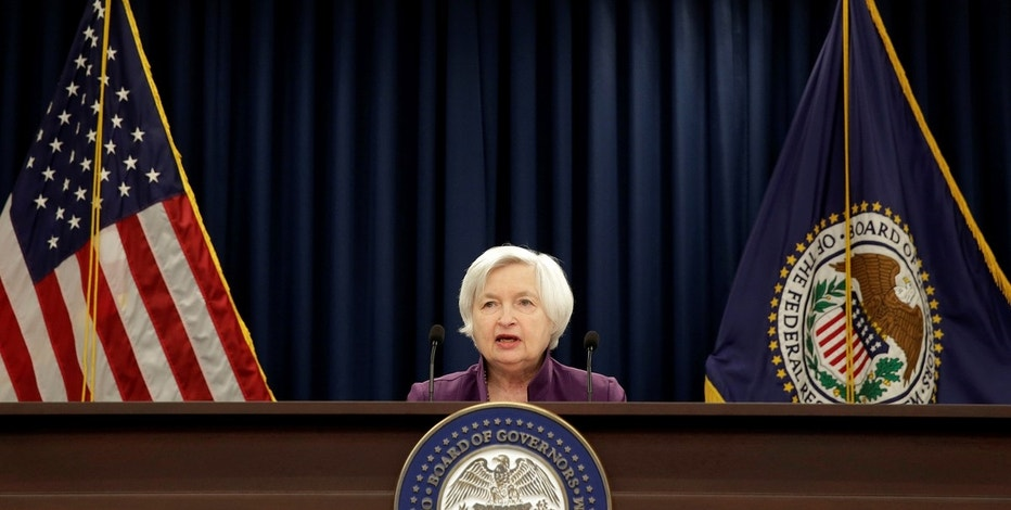 Federal Reserve Board Chairwoman Janet Yellen speaks during a news conference after the Fed releases its monetary policy decisions in Washington, U.S., June 14, 2017.   REUTERS/Joshua Roberts - RTS174U2